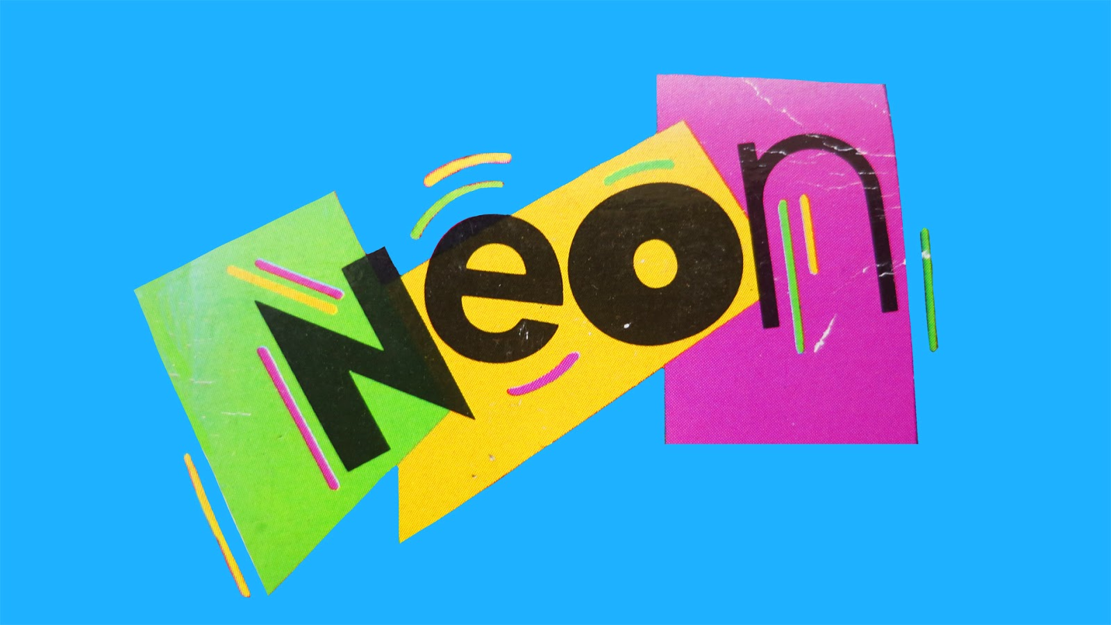 Frankie's Apartment: Neon Logo