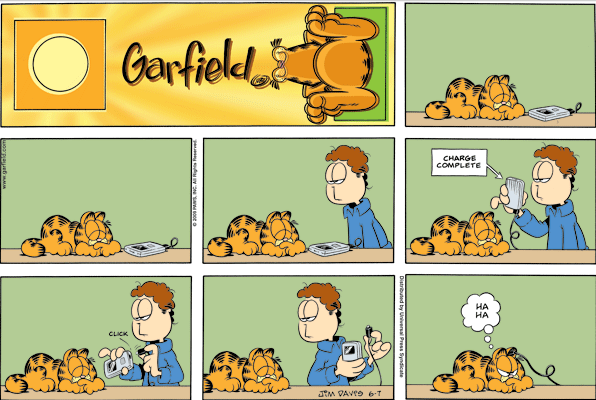 garfield strip: