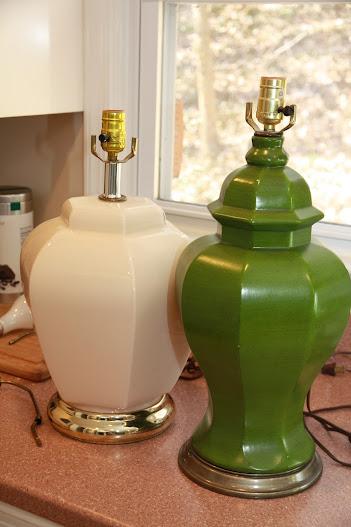 pinterest challenge diy mercury glass lamp - Mercury Glass Lamps