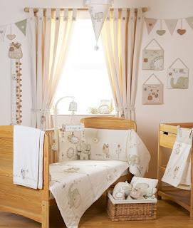 Dormitorio crema y marrón