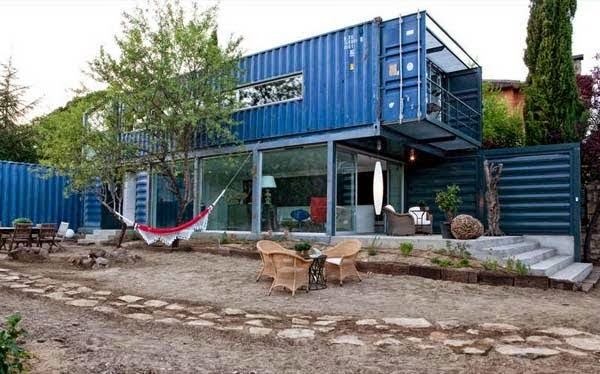 A Shipping Container Costs About $2,000. What These 15 People Did With That Is Beyond Epic - This collection of containers is just epic.