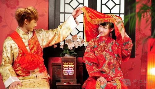 การแต่งงานตามประเพณีจีน