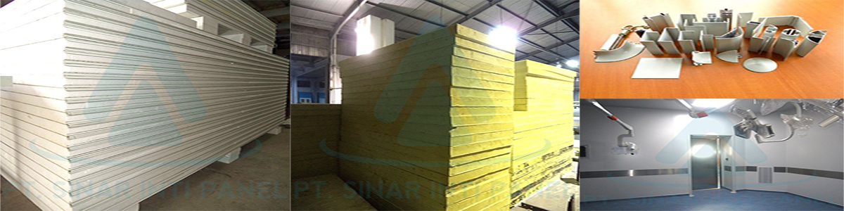 INSULATED SANDWICH PANEL INDONESIA | HARGA SANDWICH PANEL TERBARU