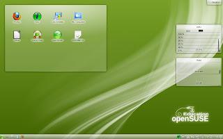 OpenSuSE 12.1 Li-f-e desktop