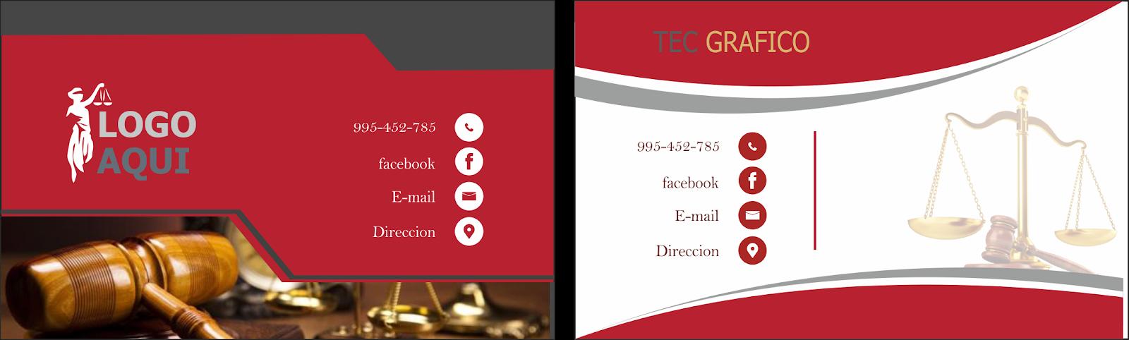 175662f4b566e En caso de los abogados no hay excepcion una tarjetas de presentacion para  esos nuevos clientes potenciales nos ayudaran a crear vinculos y  comunicacion con ...