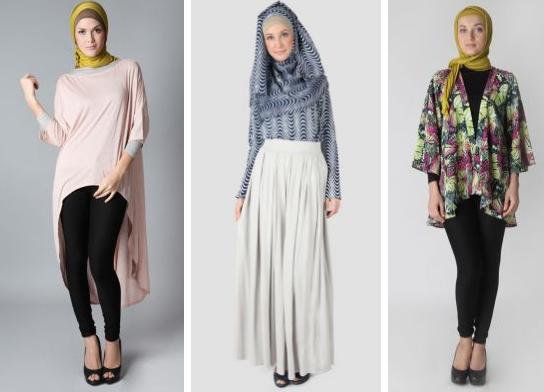 Model Baju Muslim Wanita Santai
