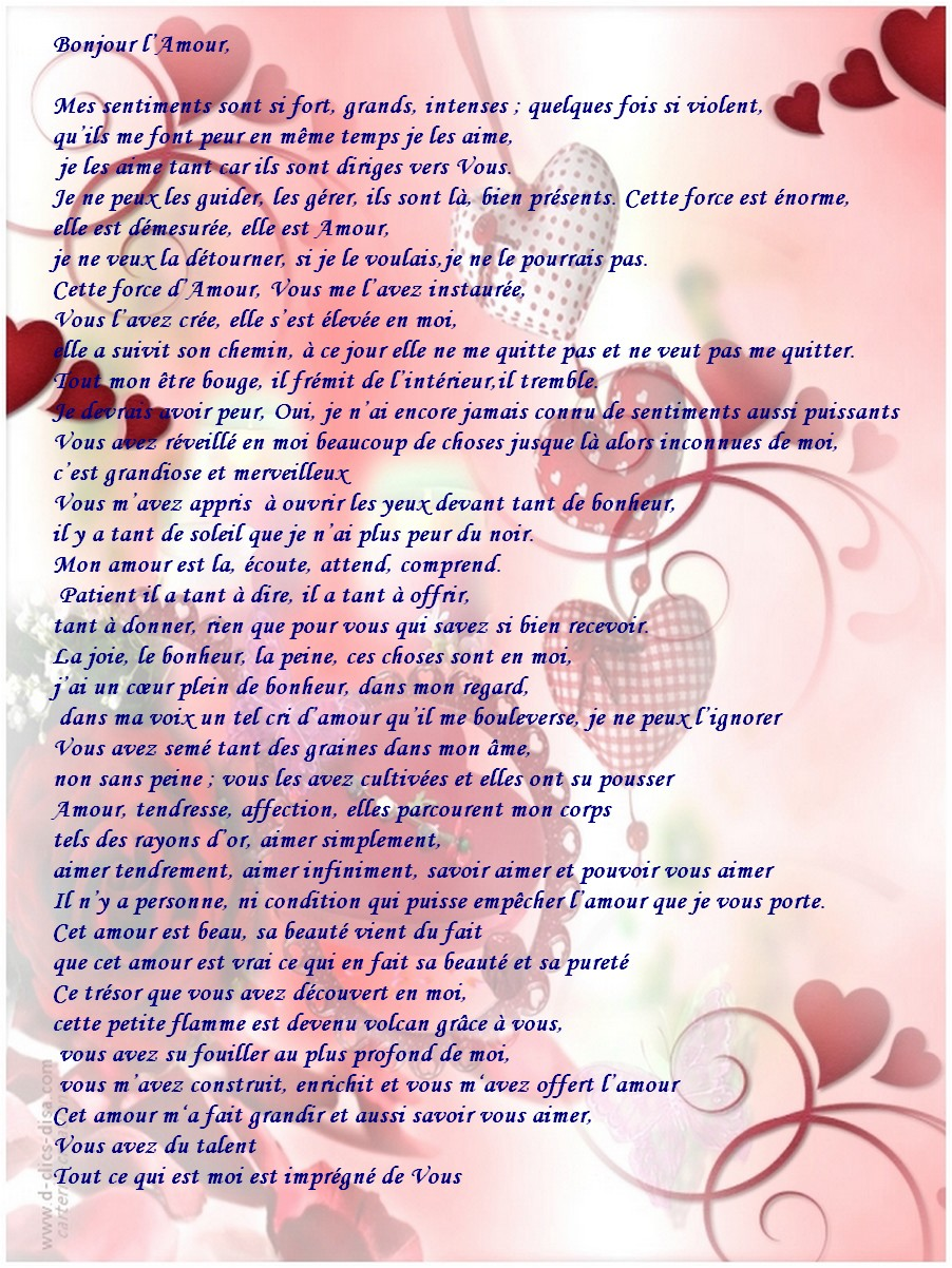 poeme belle rencontre