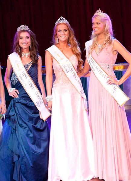 Miss Supranational 2013 Sweden Sabina Claesson, Iceland Fanney Ivarsdottir, Denmark Alexandria Essinger