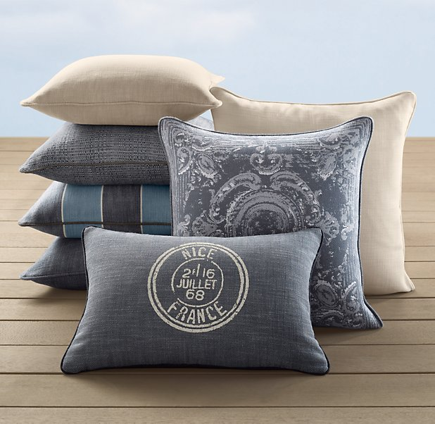 Restoration Hardware Pillows: DIGS: May 2011