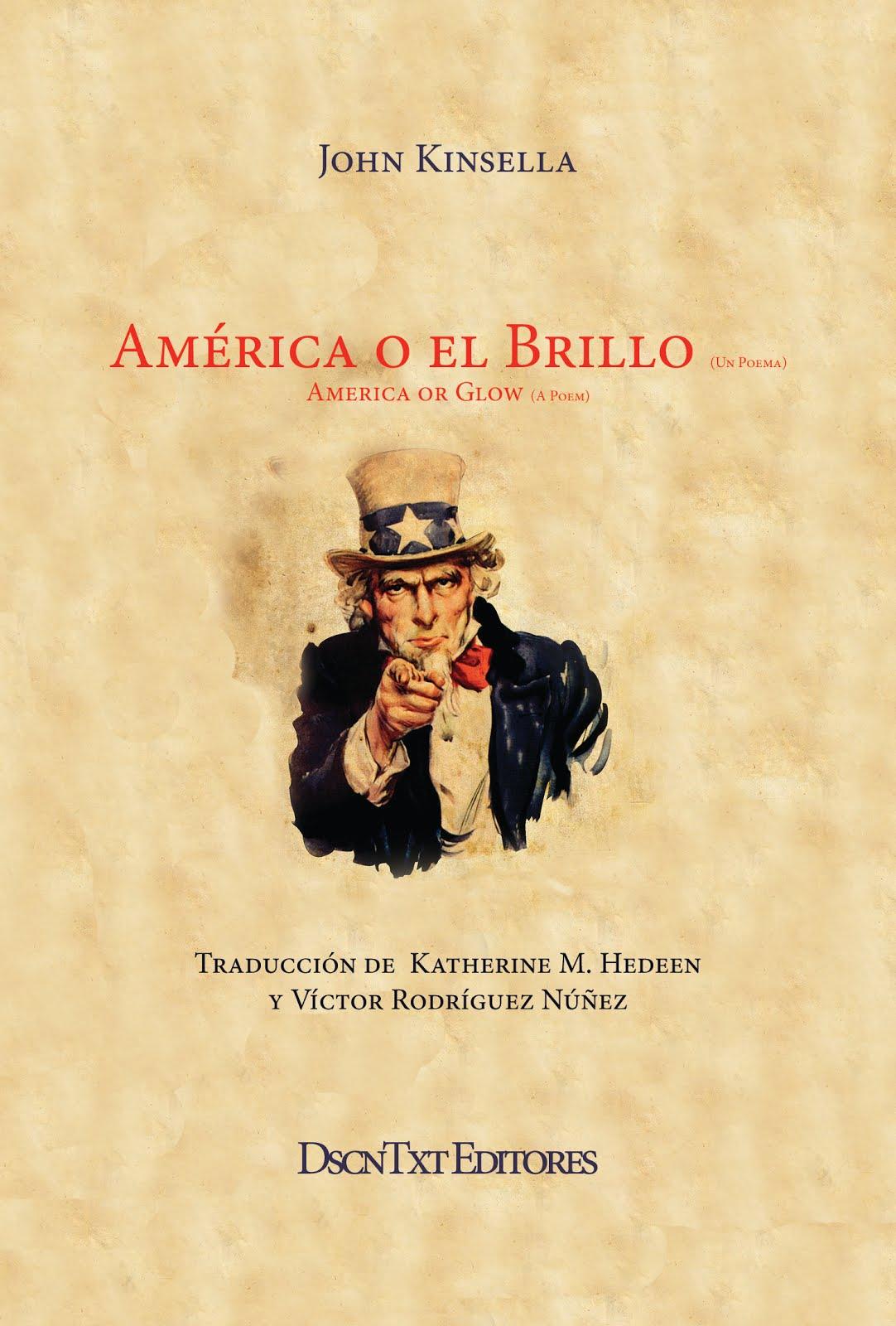 América o el brillo, de John Kinsella. Traducción de Katherine M. Hedeen y Víctor Rodríguez Núñez
