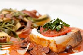 domates soslu balık
