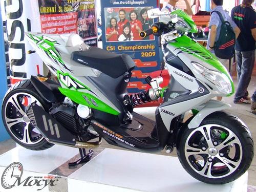 Modifikasi Yamaha Xeon RC 125 Terbaru 2013 title=