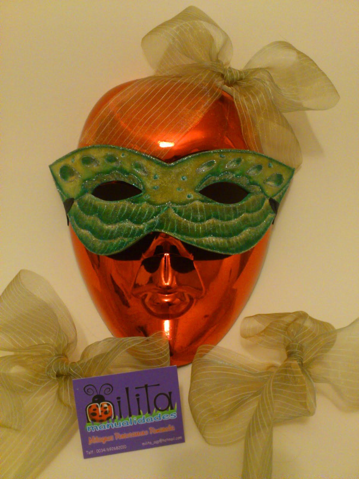 Milita manualidades mascaras para carnaval - Mascaras para carnaval manualidades ...