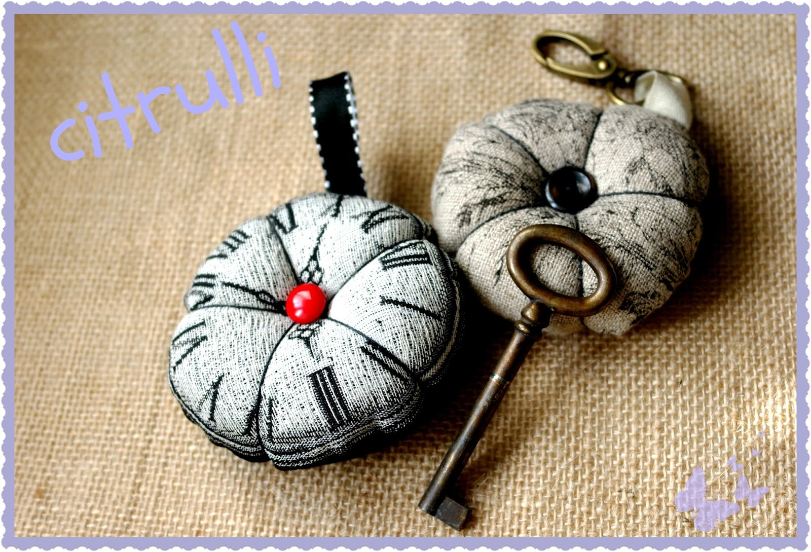 fabric key holder