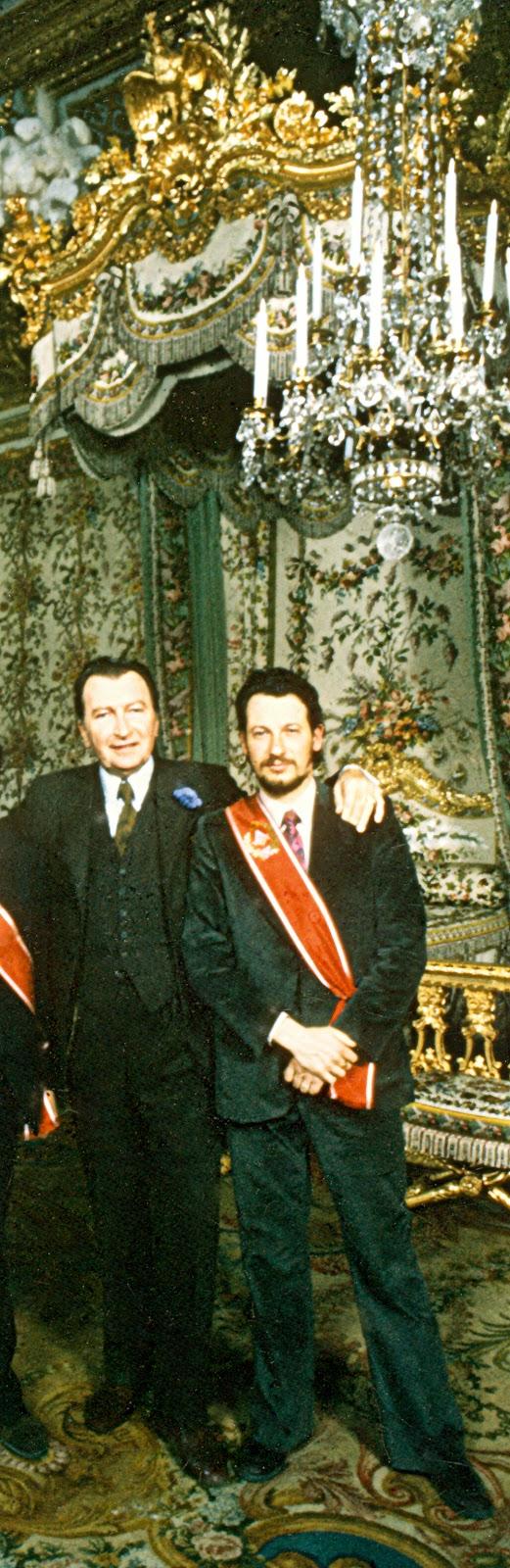 Gérald Van der Kemp et Daniel Sievert