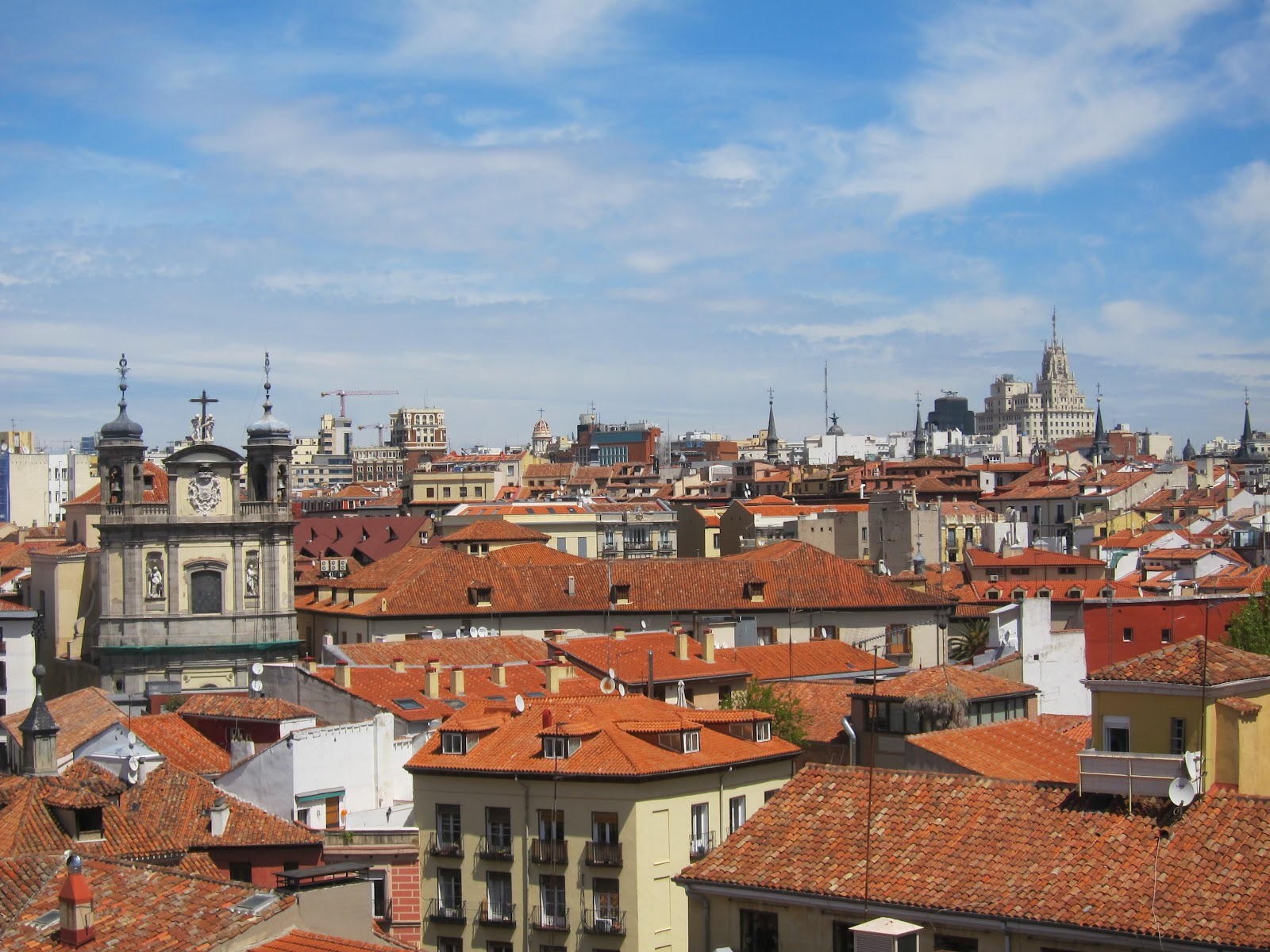 madridfotodiaria tejados del viejo madrid