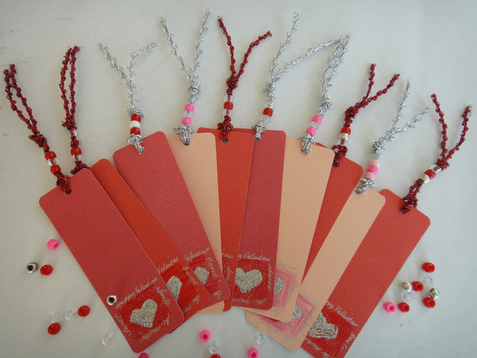 Valentine Bookmark Craft