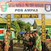 Dansatgas Yonif 400/Raider Tinjau Pos Perbatasan RI-PNG