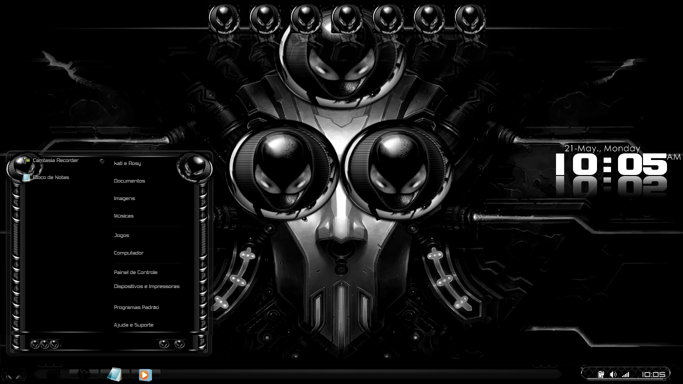 descargar temas alienware para windows 7