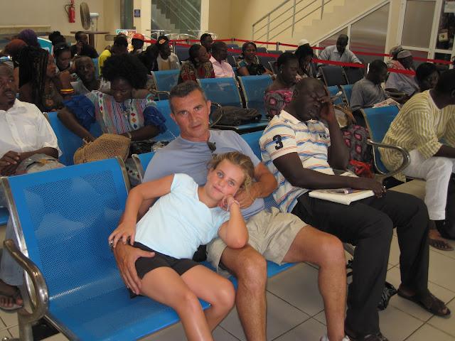 Estación de Ferry en Dakar con destino a Goreé (Senegal)