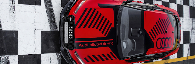 audi rs 7 piloted driving concept sonoma raceway usa