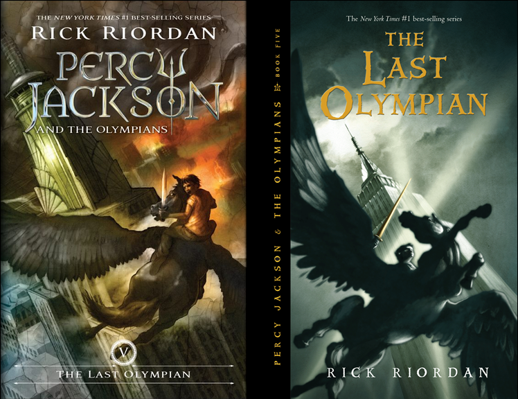 Percy Jackson Fans Unite!: The Last Olympian New Cover!