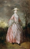 Mary Countess of Howe by Thomas Gainsborough, image copyrighted by English Heritage Prints
