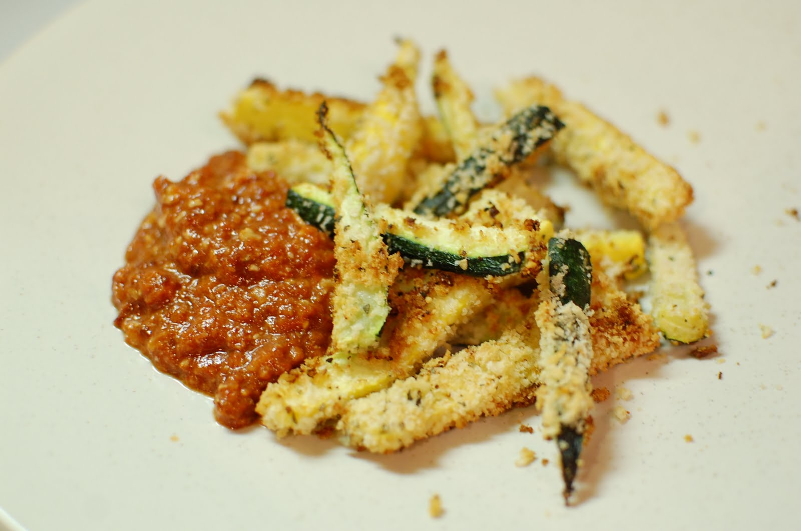 Reckless Abandon: Healthy Zucchini Fries