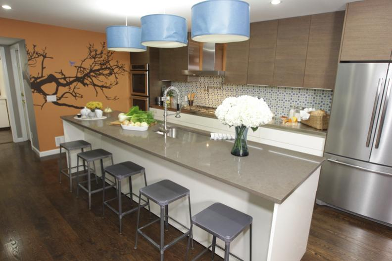 Wall Decals by WALLTAT, for kids and adults: HGTV's Kitchen ...