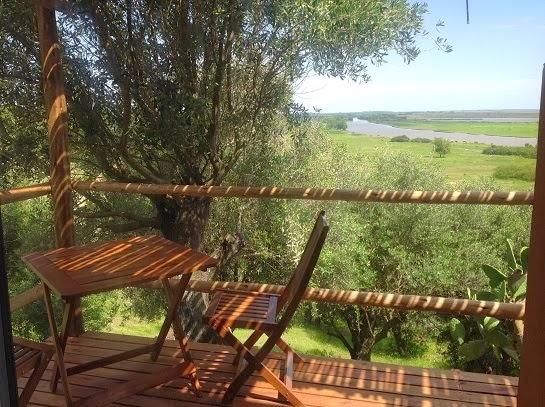 Jacaranda, deck con vista panoramica