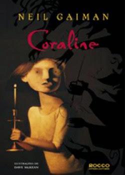 livro contos de terror coraline