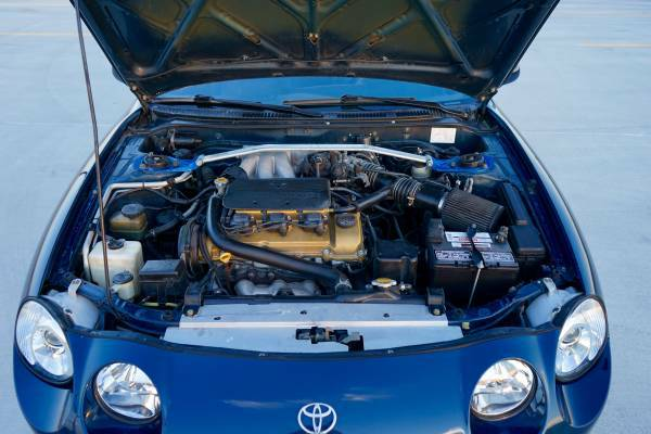 1994 Toyota Celica Engine - Gone Is The Original S Fe Inline And It Is Now Powered By A Mz Fe V That Should Be Good For Something In The Horsepower And - 1994 Toyota Celica Engine