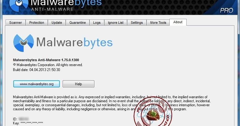 malwarebytes id and product key