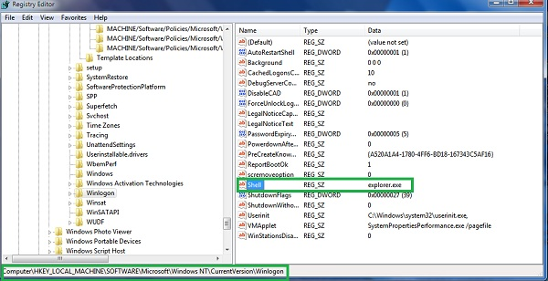 hkey local machine software microsoft windows currentversion explorer browser helper objects