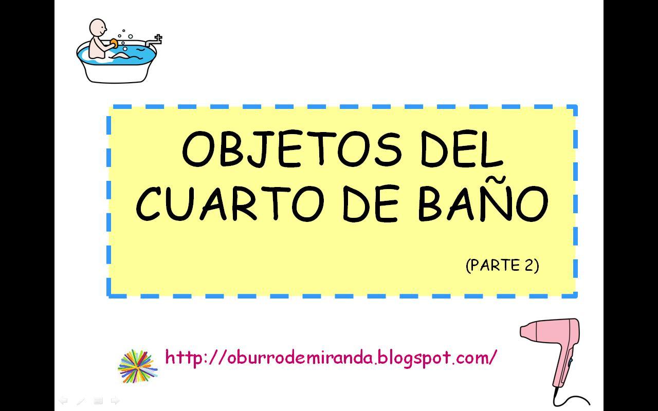 o burro de Miranda: BITS: OBJETOS DEL CUARTO DE BAÑO - INGLÉS