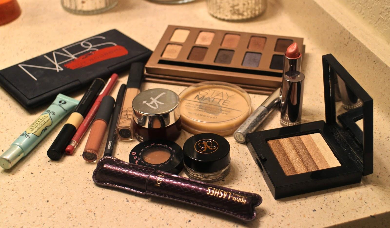 NYE makeup look