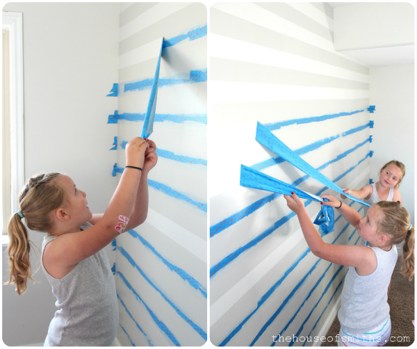Painting Stripes On Walls Measuring