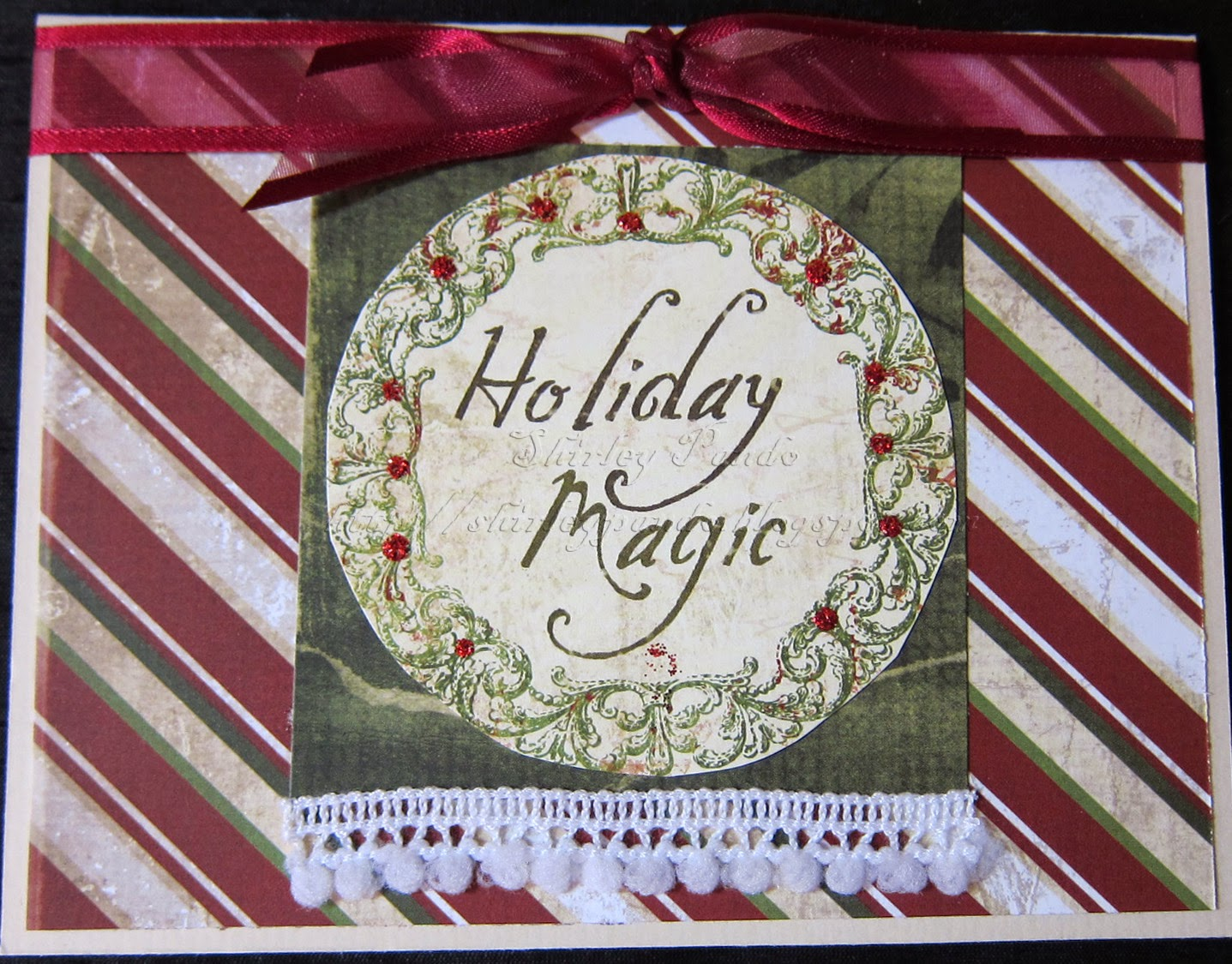 Holiday Magic card