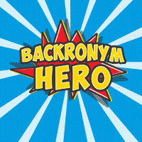 Backronym Hero coming to a web page near you