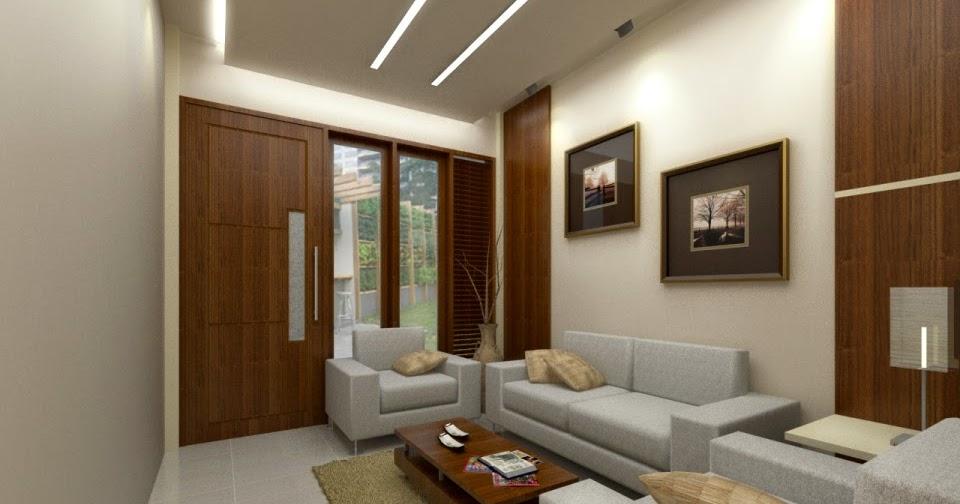 5 contoh desain ruang tamu minimalis mewah gambar rumah
