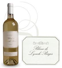 Vin Bordeaux Blanc de Lynch Bages