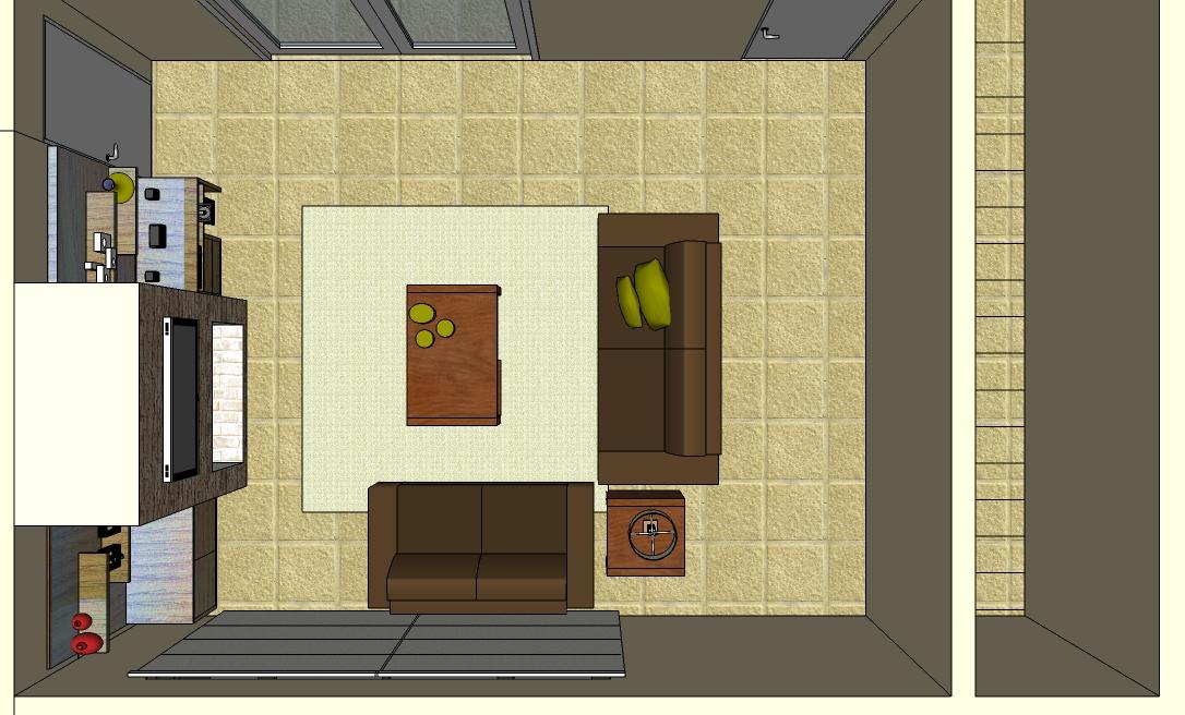 Projetos De Sala De Tv Com Lareira ~ Traço Original Etapas do projeto  Sala da Lareira
