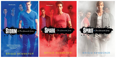 Elemental series - Brigid Kemmerer