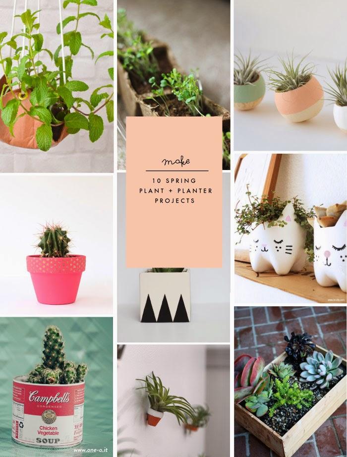 10 spring plant planter diy projects poppytalk