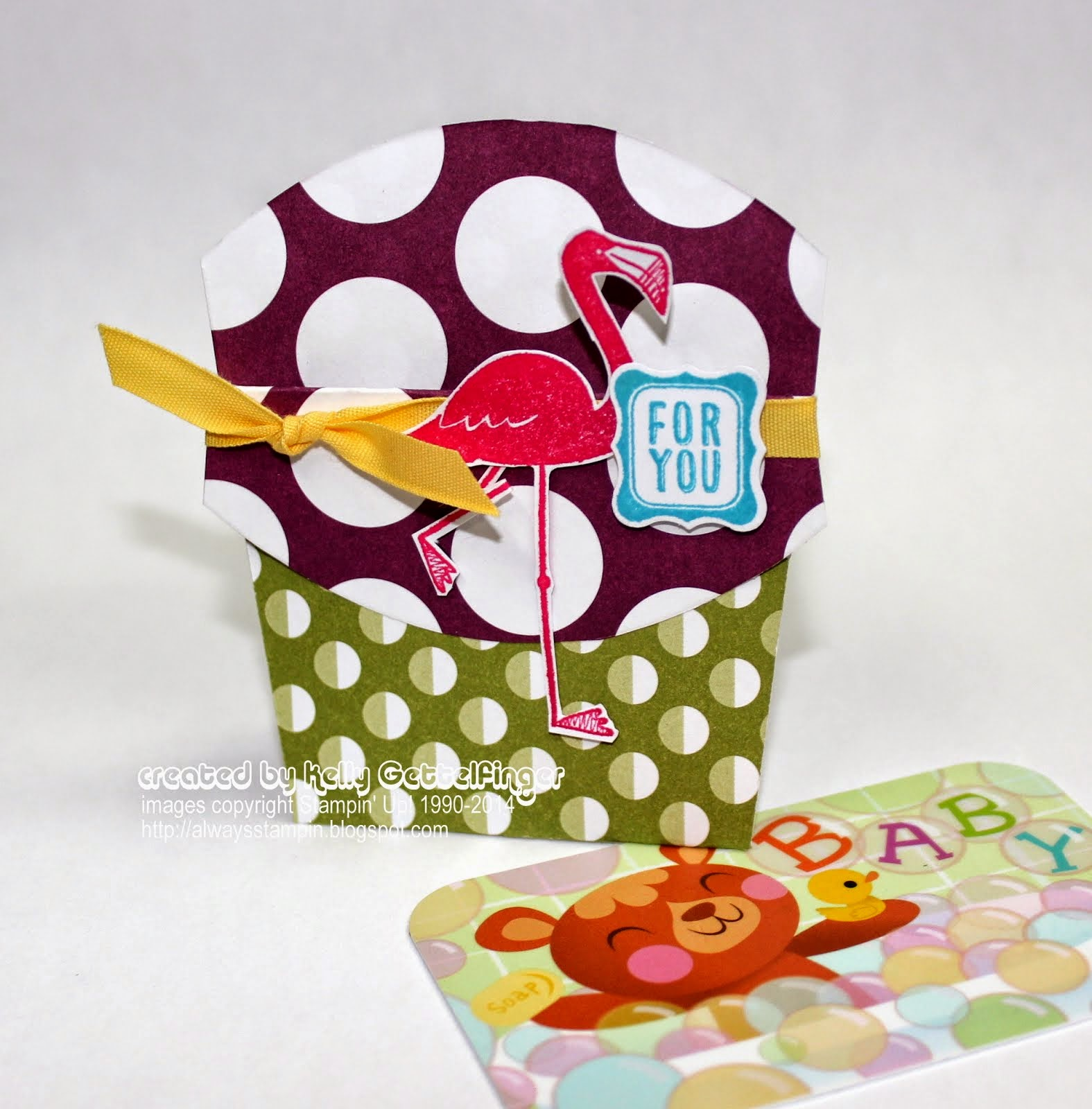 Fry Box Gift Card Holder