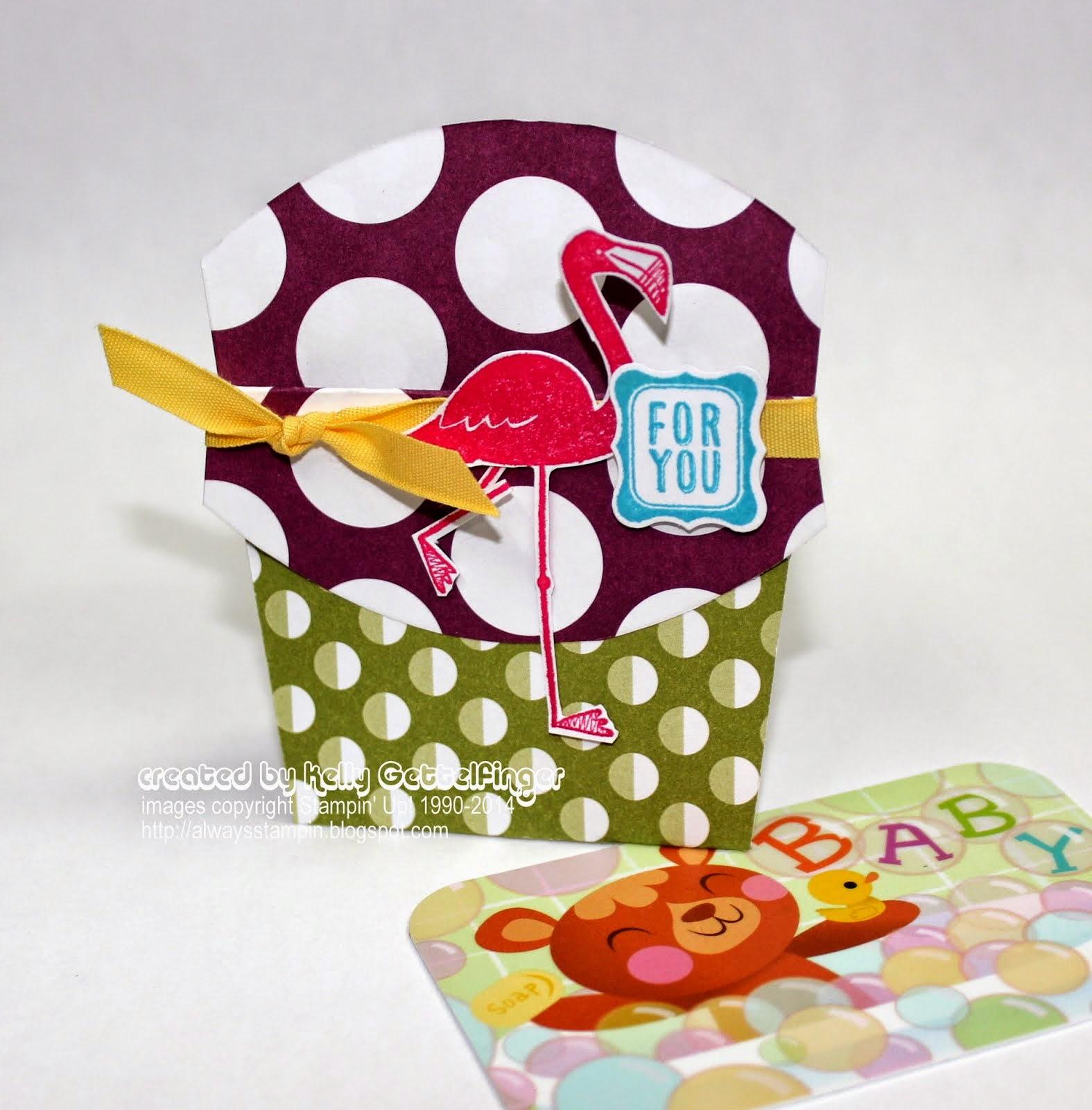Fry Box Gift Card Holder