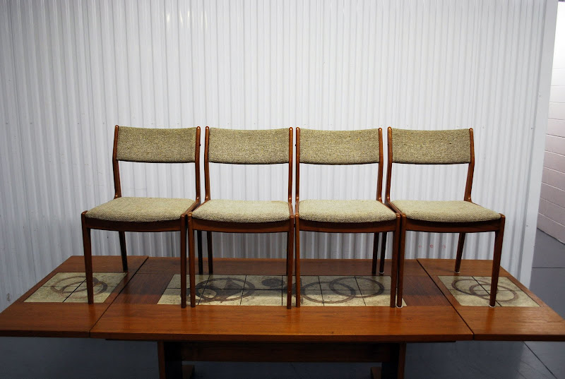 Mid Century Danish Modern Dining Room Table