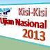 KISI-KISI (SKL) UN 2012/2013 SD / MI , SMP / MTS, SMA/MA, SMK