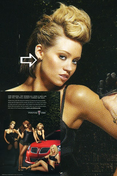 Kim Wyatt of the Pussycat Dolls wearing Jenny Dayco earrings