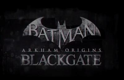Batman: Arkham Origins Blackgate Title Logo